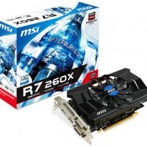 Carte graphique MSI R7 260X 2GD5 OC V1