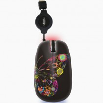 Souris Mini Wheel Butterfly SM-FLY